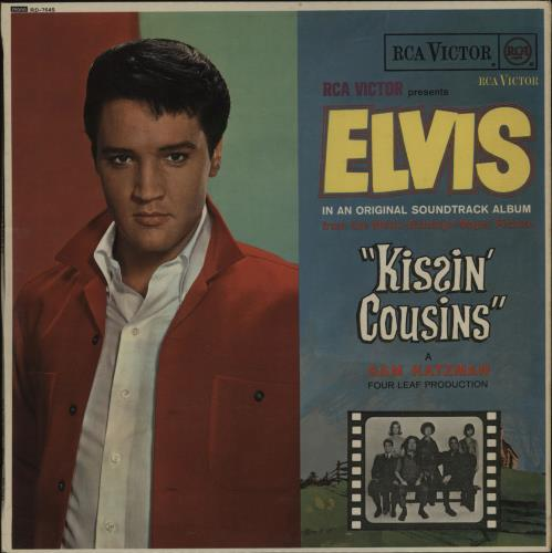 Image result for Elvis kissin cousins LP
