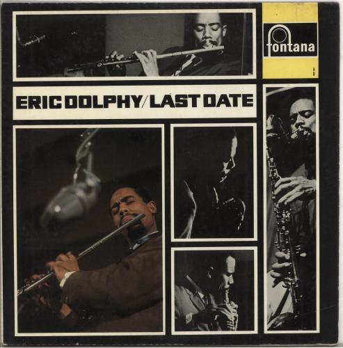 Eric Dolphy Last Date vinyl LP album (LP record) UK EDPLPLA611977