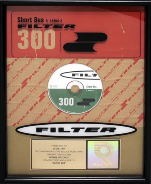 Filter Short Bus award disc US FILAWSH545321