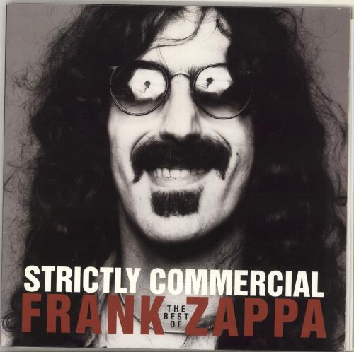Frank Zappa Strictly Commercial 2-LP vinyl record set (Double Album) UK ZAP2LST52070