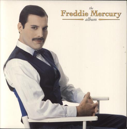Freddie Mercury The Freddie Mercury Album vinyl LP album (LP record) UK MERLPTH656000