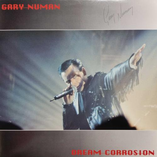 Gary Numan Dream Corrosion - Autographed Triple LP 3-LP vinyl record set (Triple Album) UK NUM3LDR48211