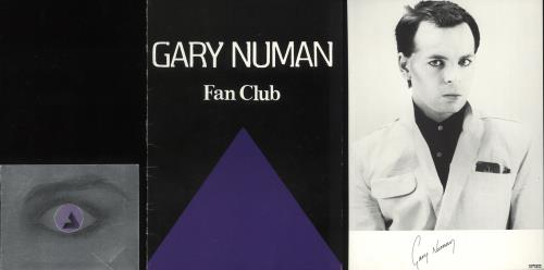 Gary Numan Fanclub Yearbooks - Complete memorabilia UK NUMMMFA746177