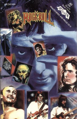 Genesis Rock 'N' Roll Comic magazine US GENMARO727749