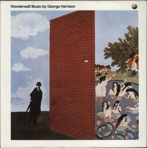 George Harrison Wonderwall Music vinyl LP album (LP record) UK GHALPWO467640