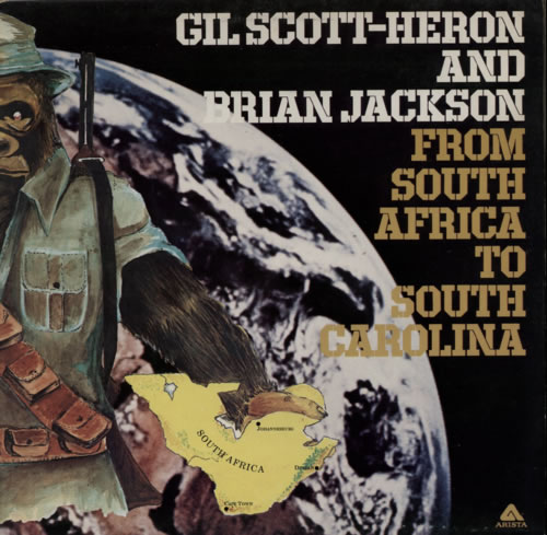 Gil Scott-Heron From South Africa To South Carolina vinyl LP album (LP record) UK GSHLPFR607705