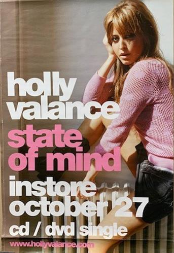 Holly Valance State Of Mind Poster poster UK HVAPOST737793