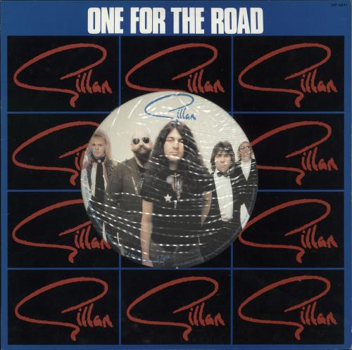 Ian Gillan One For The Road vinyl LP album (LP record) Japanese GILLPON444949
