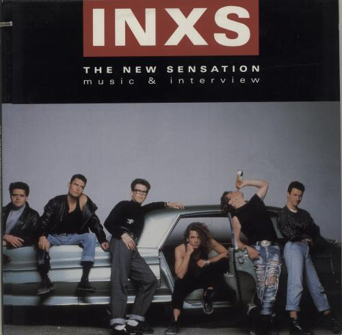 Inxs The New Sensation Music Interview Rare 1988 Us Promotional Doublepack Comprising A Promo Vinyl 12 With The Lp Version Radio Remix Edit Of New