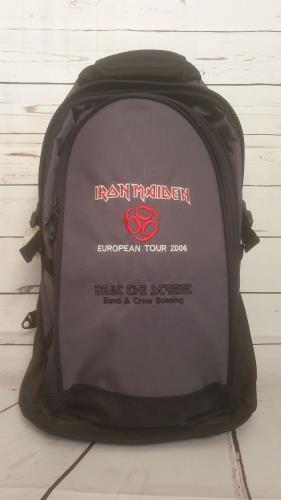 Iron Maiden European Tour 2006 + Pass memorabilia UK IROMMEU738590
