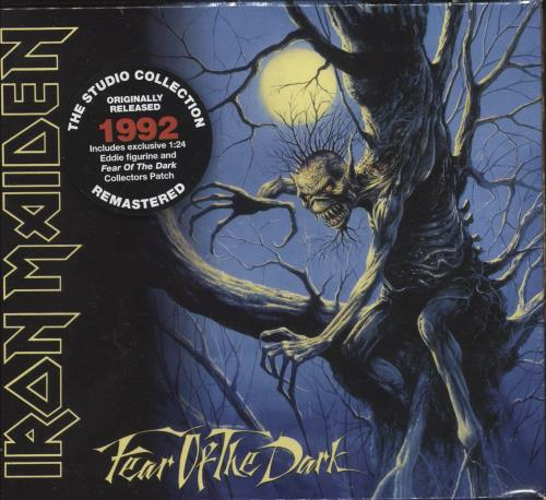 Iron Maiden Fear Of The Dark - Sealed Collectors Box CD Album Box Set UK IRODXFE726961