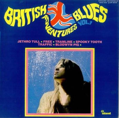 Island Records British Blues Adventures French vinyl LP ...