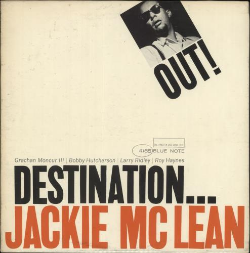 Jackie McLean Destination... Out - 1st - NY vinyl LP album (LP record) US JM7LPDE728630