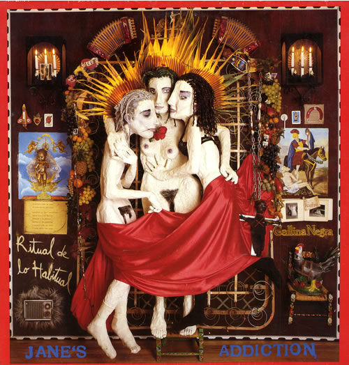 Janes Addiction Ritual De Lo Habitual vinyl LP album (LP record) UK JANLPRI195148