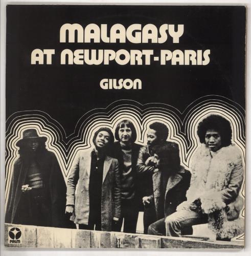 Jef Gilson Malagasy At Newport-Paris + 'Palm Journal' vinyl LP album (LP record) French KQFLPMA738780