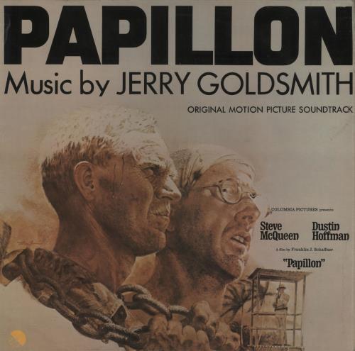 Jerry Goldsmith Papillon vinyl LP album (LP record) UK J-0LPPA563363