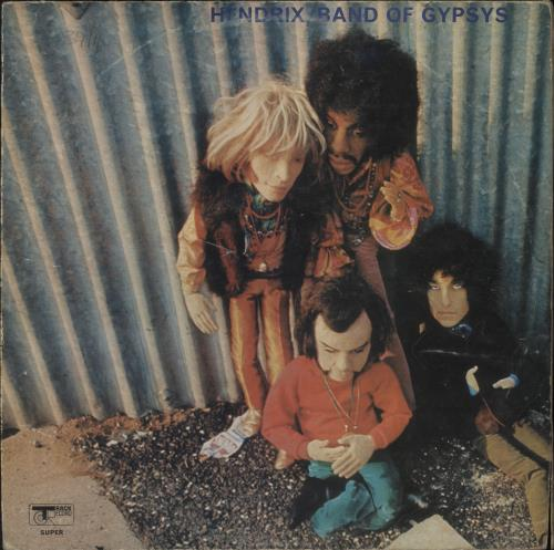 Jimi Hendrix Band Of Gypsys - Puppet - VG/EX vinyl LP album (LP record) UK HENLPBA434356
