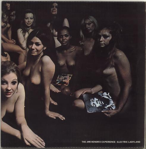 Jimi Hendrix Electric Ladyland - Transitional 1st Pressing - EX 2-LP vinyl record set (Double Album) UK HEN2LEL229088