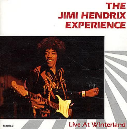 Jimi Hendrix Live At Winterland CD album (CDLP) German HENCDLI294698
