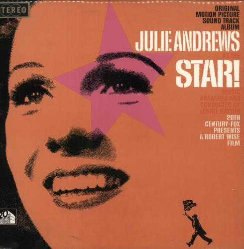 Julie Andrews Star! vinyl LP album (LP record) Australian JARLPST745510