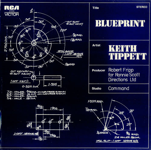 Keith Tippett Blueprint vinyl LP album (LP record) UK KTGLPBL454361