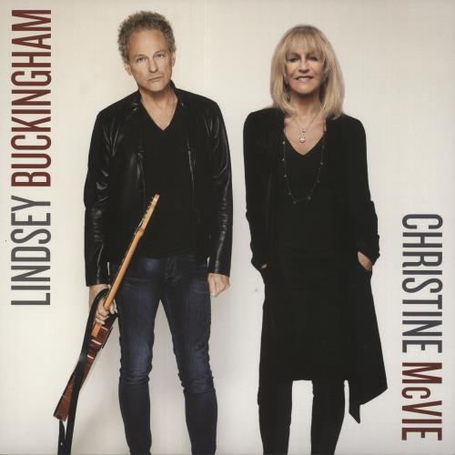 Lindsey Buckingham Lindsey Buckingham / Christine McVie vinyl LP album (LP record) UK LINLPLI732320