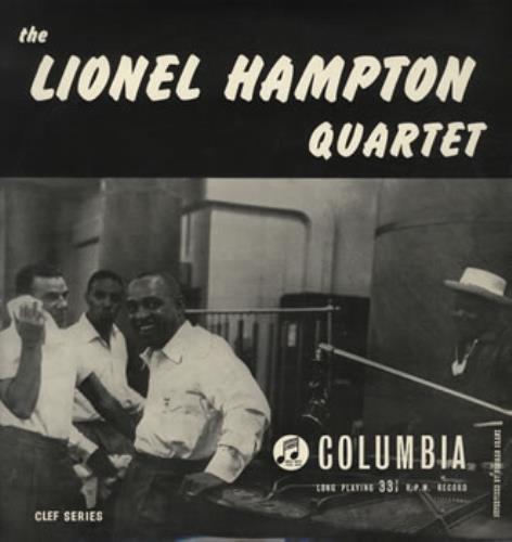 Lionel Hampton The Lionel Hampton Quartet vinyl LP album (LP record) UK LI0LPTH384440