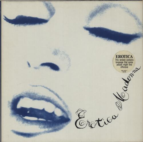 Madonna Erotica - EX 2-LP vinyl record set (Double Album) UK MAD2LER543945