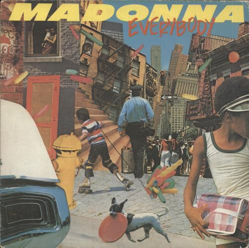 "Madonna Everybody 7"" vinyl single (7 inch record) Spanish MAD07EV240692"