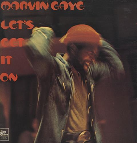 Marvin Gaye Let's Get It On vinyl LP album (LP record) UK MVGLPLE340150