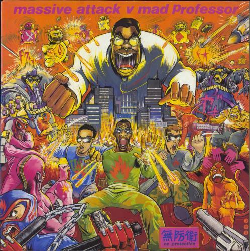 Massive Attack No Protection vinyl LP album (LP record) UK M-ALPNO97451