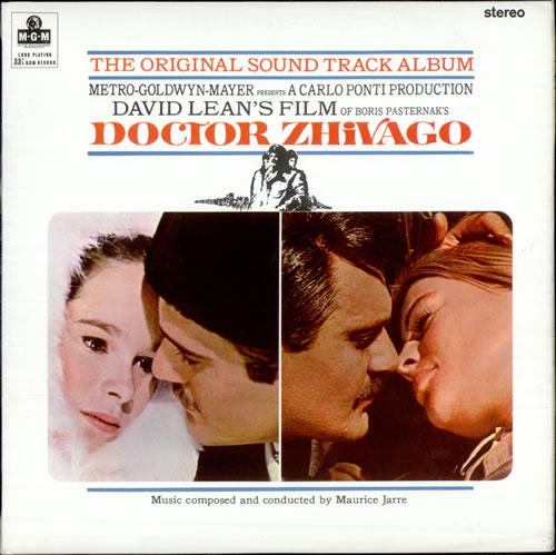 Maurice Jarre Doctor Zhivago vinyl LP album (LP record) UK MJALPDO504827