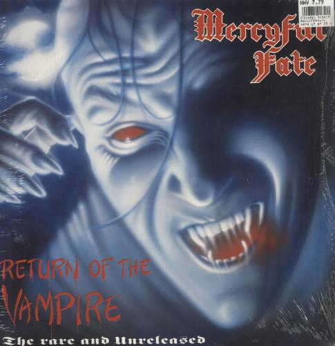 Mercyful Fate Return Of The Vampire vinyl LP album (LP record) Dutch M-FLPRE746812