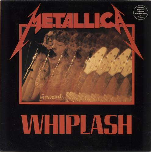 "Metallica Whiplash EP 12"" vinyl single (12 inch record / Maxi-single) US MET12WH220315"