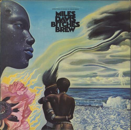 Miles Davis Bitches Brew - 1st - EX 2-LP vinyl record set (Double Album) UK MDA2LBI607054