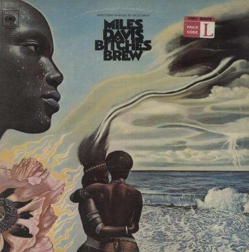 Miles Davis Bitches Brew - 1st - VG 2-LP vinyl record set (Double Album) UK MDA2LBI660950