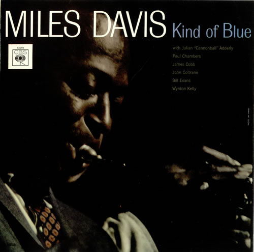 Miles Davis Kind Of Blue - 3rd vinyl LP album (LP record) UK MDALPKI494179