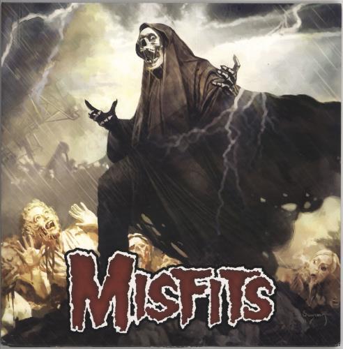 Misfits The Devil's Rain - Multicoloured Vinyl vinyl LP album (LP record) US MFTLPTH722467