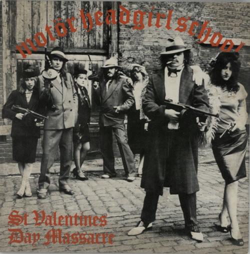 "Motorhead St Valentine's Day Massacre 10"" vinyl single (10"" record) UK MOT10ST33049"