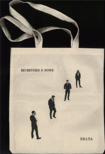 Mumford & Sons HMV Exclusive Tote Bag memorabilia UK M3DMMHM718474