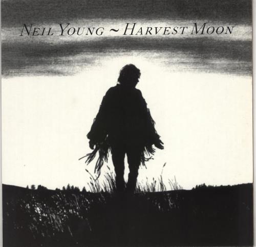 Neil Young Harvest Moon vinyl LP album (LP record) German YOULPHA734506