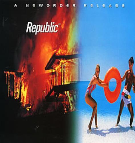 New Order Republic vinyl LP album (LP record) UK NEWLPRE171882