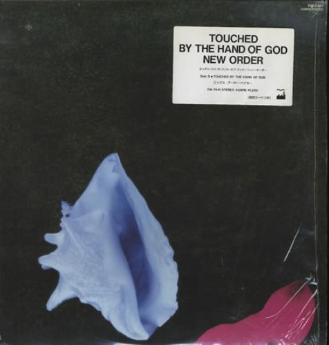 "New Order Touched By The Hand Of God - obi sticker 12"" vinyl single (12 inch record / Maxi-single) Japanese NEW12TO140097"