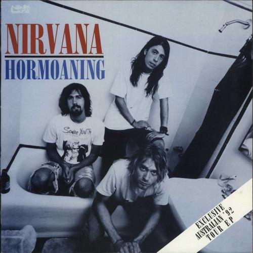 Nirvana (US) Hormoaning - Red & Blue Swirl Vinyl vinyl LP album (LP record) Australian NIRLPHO03743