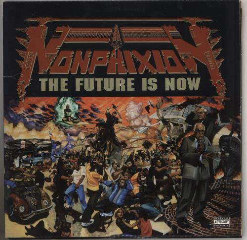 Non Phixon The Future Is Now 2-LP vinyl record set (Double Album) US 0452LTH740439