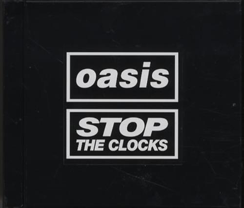 "Oasis 'Stop The Clocks' Album Sampler + Poster Insert CD single (CD5 / 5"") Japanese OASC5ST385528"