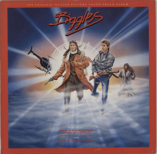 Original Soundtrack Biggles vinyl LP album (LP record) UK OSTLPBI60774