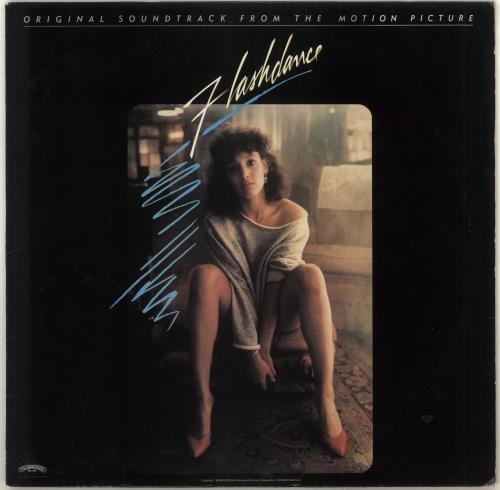 Original Soundtrack Flashdance vinyl LP album (LP record) US OSTLPFL716022