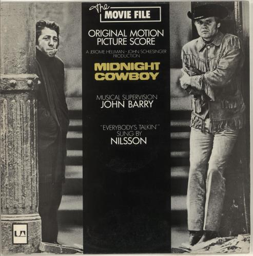 Original Soundtrack Midnight Cowboy vinyl LP album (LP record) UK OSTLPMI714408