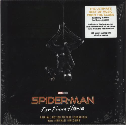 Original Soundtrack Spider-Man: Far From Home - 180 Gram - Sealed vinyl LP album (LP record) German OSTLPSP736138